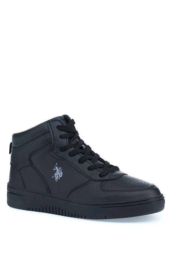 U.S. Polo Assn. ARISTO HI 1PR Siyah Erkek Sneaker Ayakkabı