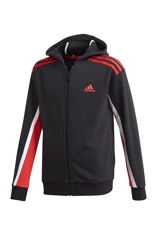Adidas B BOLD FZ HD Siyah Erkek Çocuk Sweatshirt