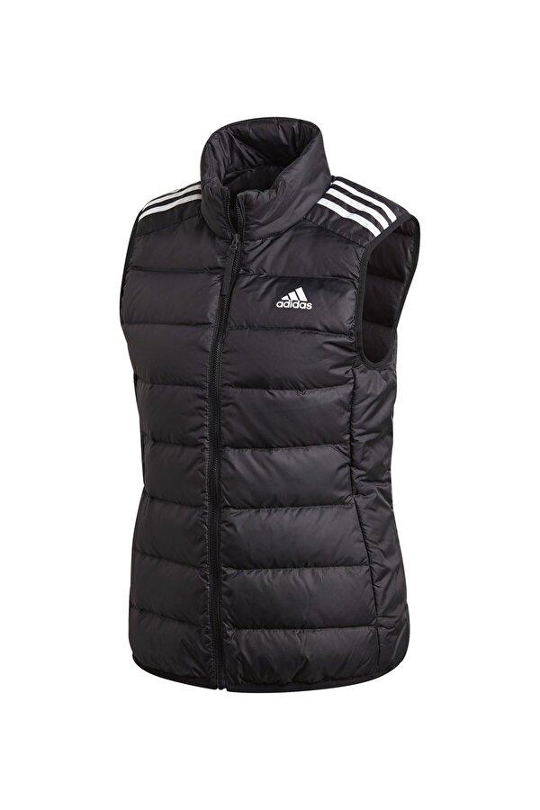 Adidas W ESS DOWN VES Siyah Kadın Mont