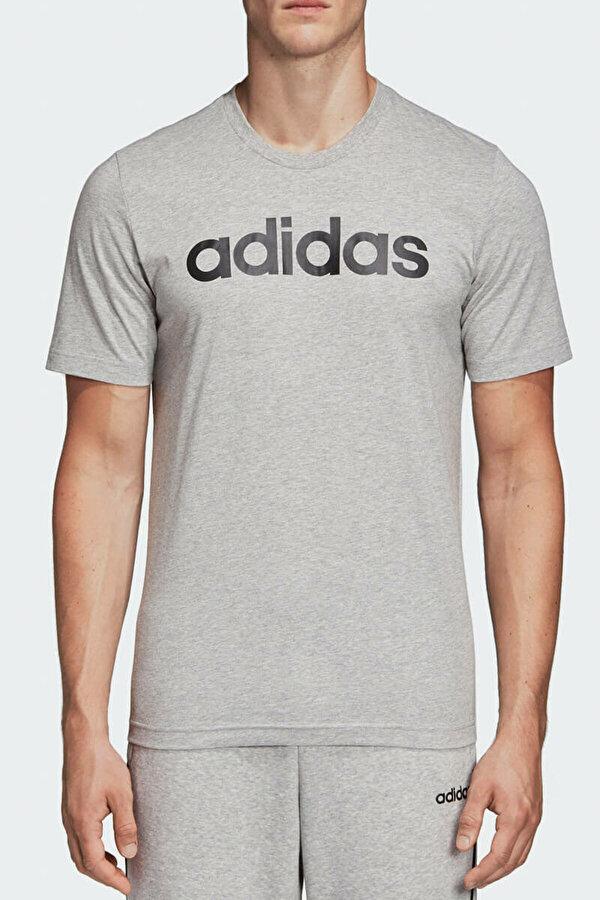 Adidas E LIN TEE Gri Erkek T-Shirt