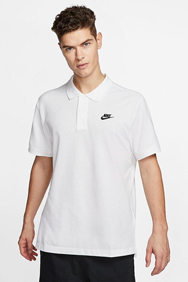 Nike M NSW CE POLO MATCHUP PQ Beyaz Erkek T-Shirt