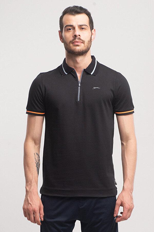 Slazenger PRESENT Siyah Erkek T-Shirt