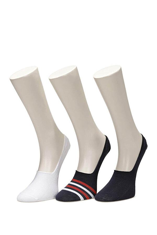 Kinetix SN421 BYRD 2 BABET 3LU Lacivert Erkek Babet Çorabı
