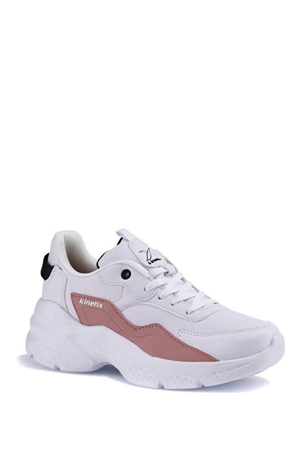 Kinetix AURA PU W 1PR Beyaz Kadın Sneaker Ayakkabı