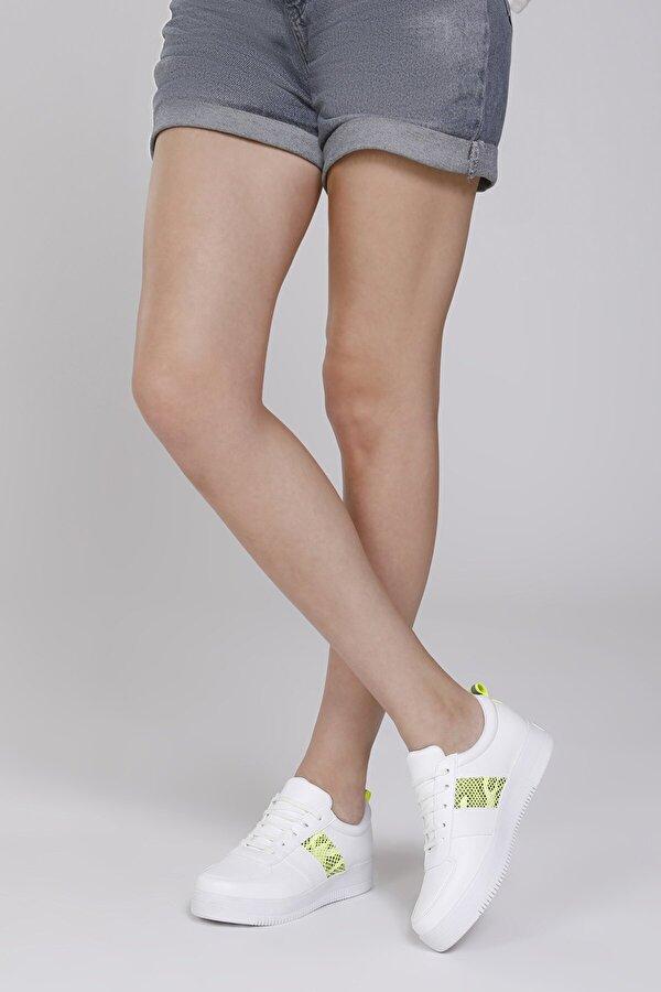 Butigo 20S-327 Beyaz Kadın Sneaker Ayakkabı