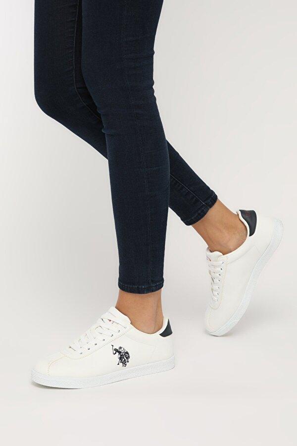 U.S. Polo Assn. TABOR WT 9PR Beyaz Kadın Sneaker