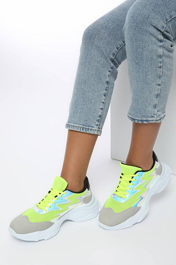 Butigo 19SF-1614 Yeşil Kadın Sneaker
