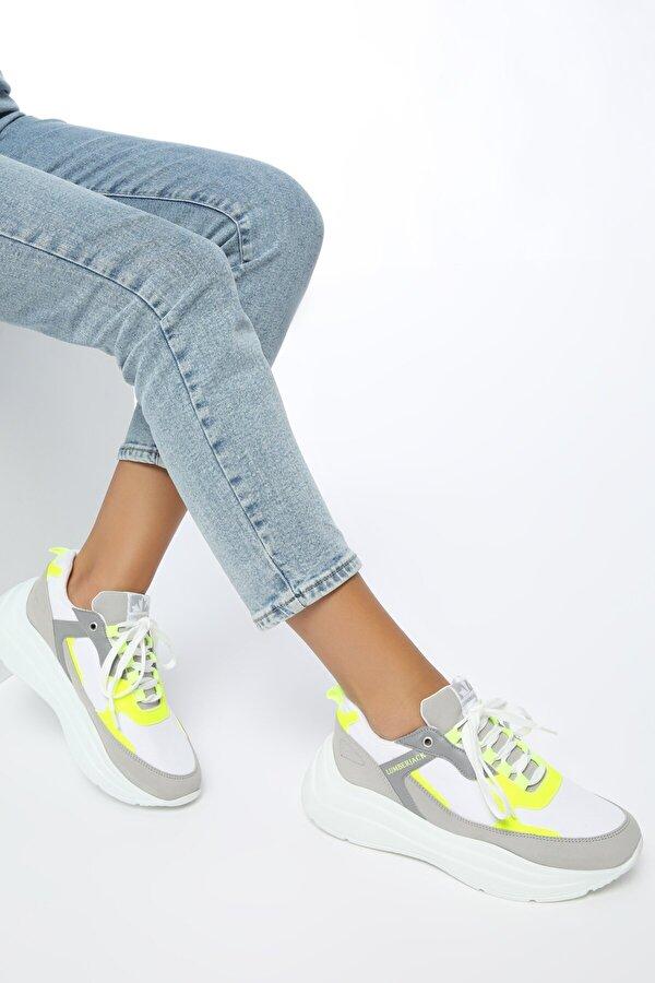 Lumberjack LOVE Beyaz Kadın Sneaker