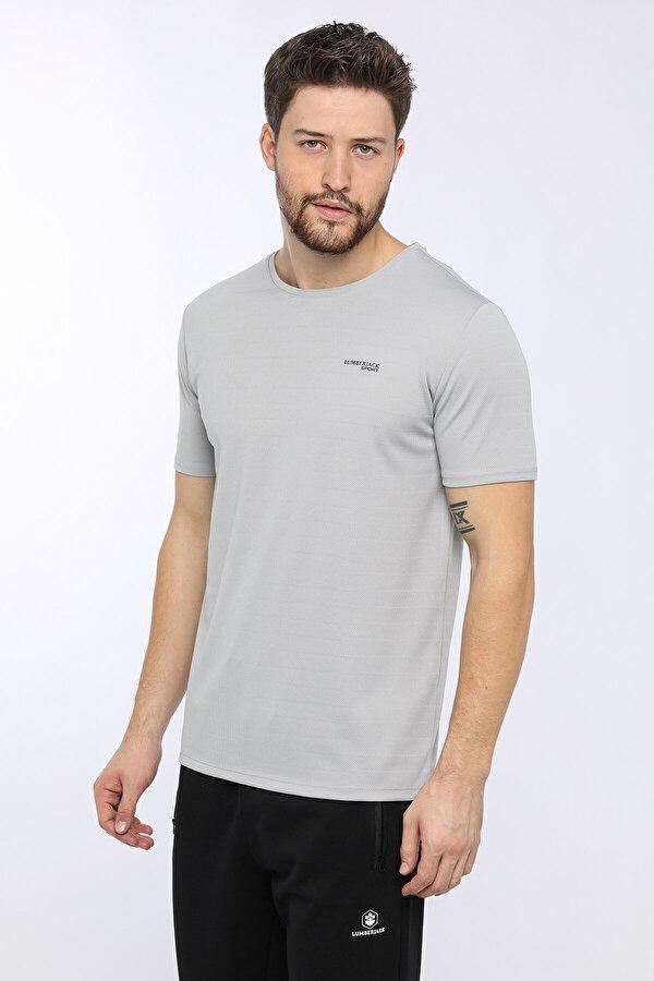 Lumberjack M-18157 NEWELL KK TSHIRT Gri Erkek T-Shirt