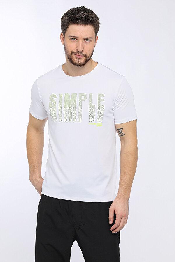 Lumberjack M-18163 CHESLEİGH KK TSHI Beyaz Erkek Kısa Kol T-Shirt