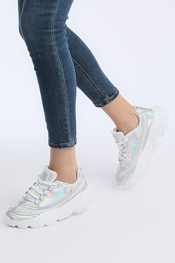Lumberjack LIMA Gümüş Kadın Sneaker