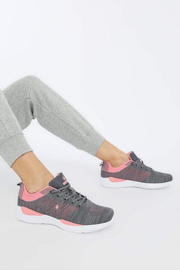 Lumberjack WOLKY Gri Kadın Sneaker Ayakkabı