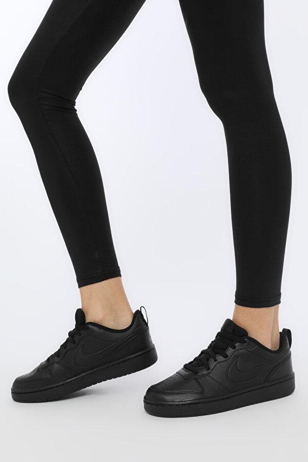 Nike COURT BOROUGH LOW 2 Siyah Kadın Sneaker Ayakkabı