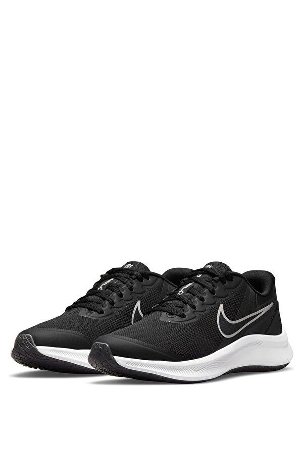 Nike STAR RUNNER 3 (GS) Siyah Erkek Çocuk Koşu Ayakkabısı