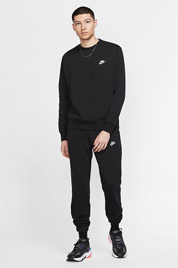 Nike M NSW CLUB CRW BB Siyah Erkek T-Shirt