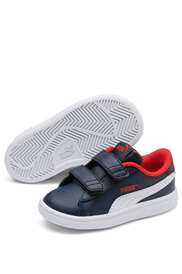 Puma SMASH V2 L V INF Beyaz Unisex Çocuk Sneaker