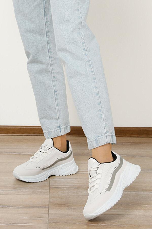 Butigo 20S-549 Beyaz Kadın Sneaker Ayakkabı