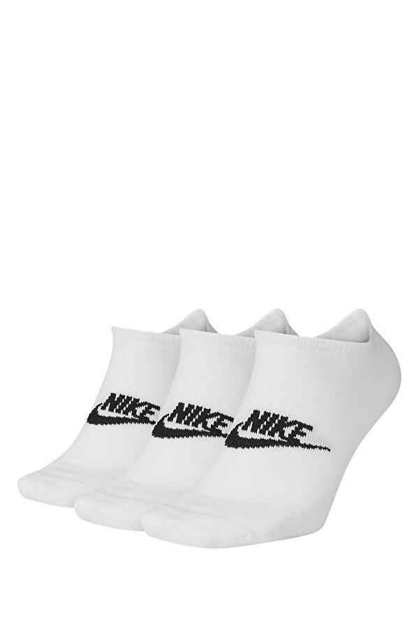 Nike U NK NSW EVERYDAY ESSENTI Beyaz Unisex Çocuk Çorap
