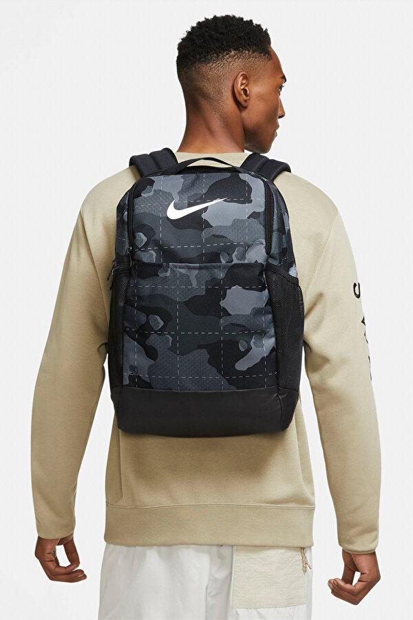 Nike NK BRSLA M BKPK - 9.0 AOP Gri Erkek Sırt Çantası