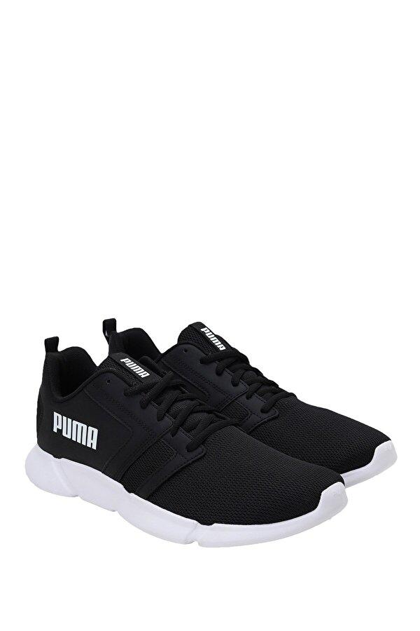 Puma FLAIR  BLACK- WHI Siyah Erkek Koşu Ayakkabısı