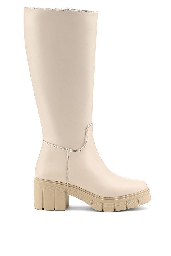 Nine West MANONIYA 1PR Pudra Kadın Topuklu Çizme