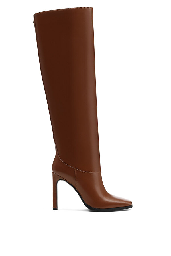 Nine West EPIKAT 1PR Camel Kadın Topuklu Çizme