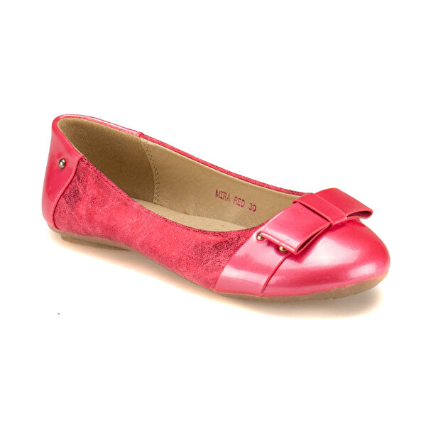 Pink Step MIRA Kırmızı Kız Çocuk Babet