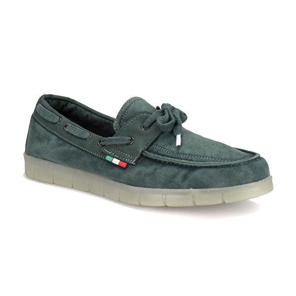 Panama Club DMS-10 M 1597 Yeşil Erkek Marin Ayakkabı