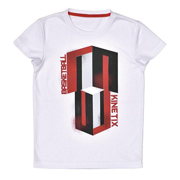Kinetix A5131635 Beyaz Erkek Çocuk T-Shirt
