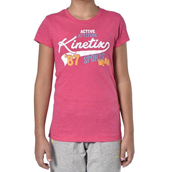 Kinetix A5132569 Fuşya Kız Çocuk T-Shirt