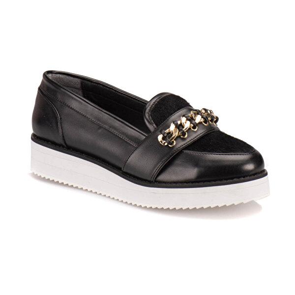 Butigo A3161137 Siyah Kadın Loafer Ayakkabı