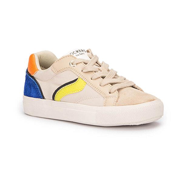 Dockers by Gerli 222255 Bej Erkek Çocuk Sneaker Ayakkabı