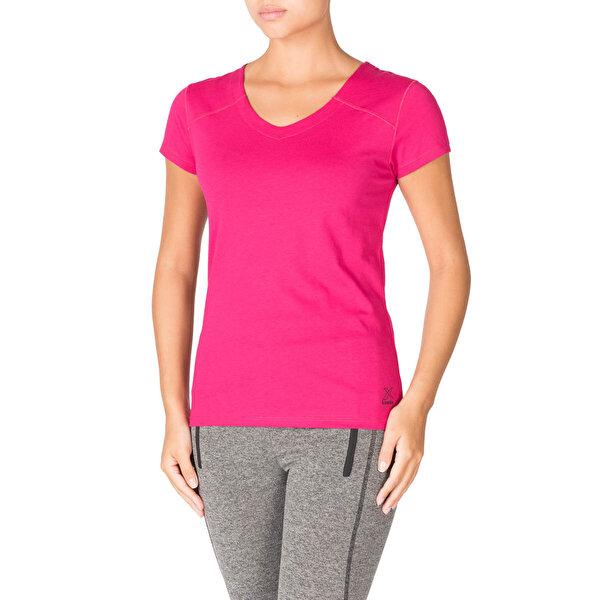 Kinetix SONIA T-SHIRT Koyu Fuşya Kadın T-Shirt