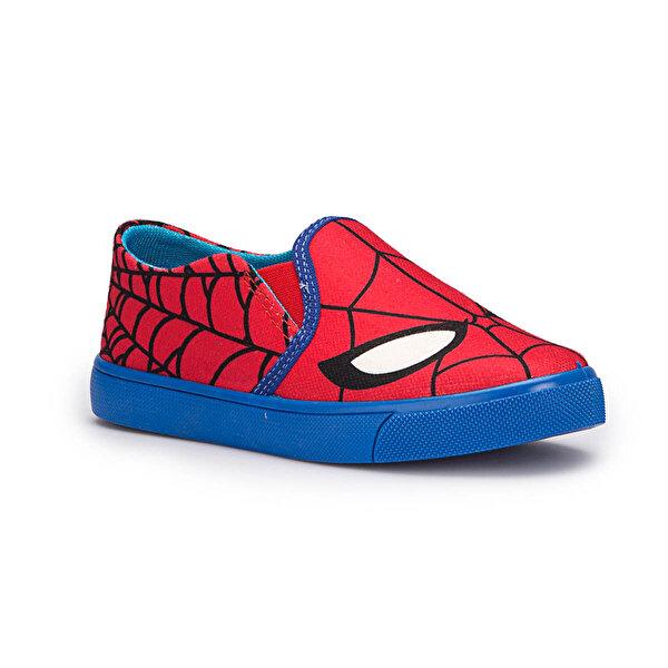 Spiderman TANGE Kırmızı Erkek Çocuk Slip On Ayakkabı