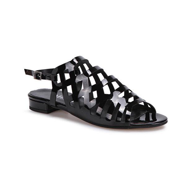 Miss F DS17053 Siyah Kadın Dress Ayakkabı