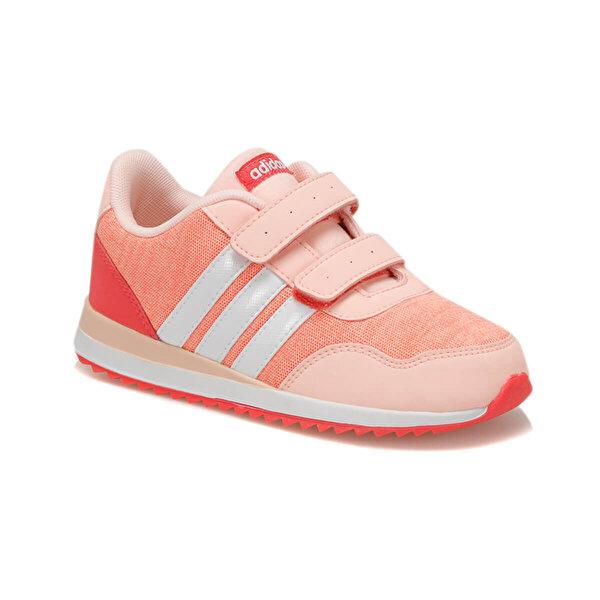 Adidas V JOG CMF INF (MESH/SYN N Nar Çiçeği Kız Çocuk Sneaker Ayakkabı