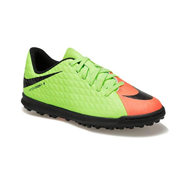 Nike JR HYPERVENOMX PHADE III Yeşil Erkek Çocuk Halı Saha Ayakkabısı