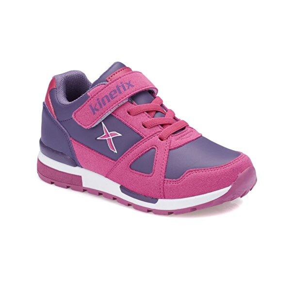 Kinetix RIVERO PU Mor Kız Çocuk Sneaker Ayakkabı