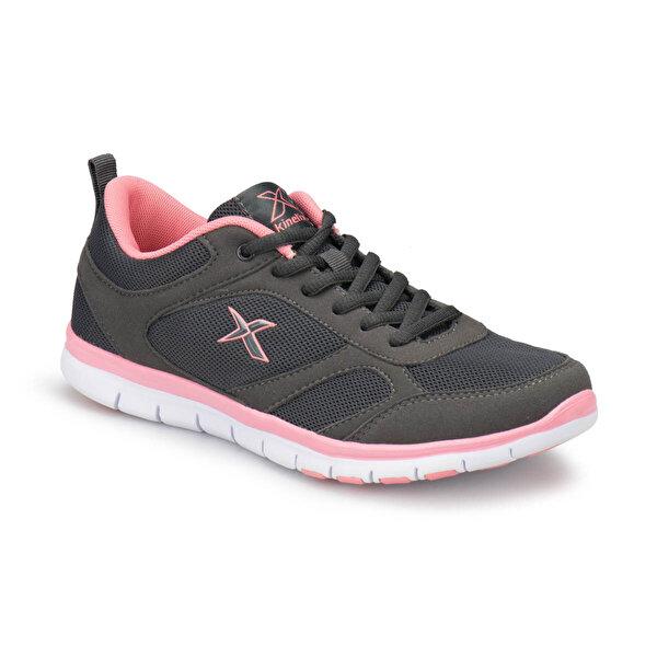 Kinetix VITORA W Koyu Gri Kadın Fitness Ayakkabısı