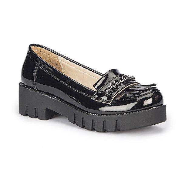 Pink Step FONA-2 Siyah Kız Çocuk Günlük Ayakkabı