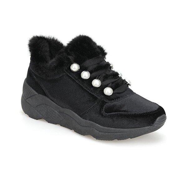 Butigo 18K-332 Siyah Kadın Sneaker Ayakkabı