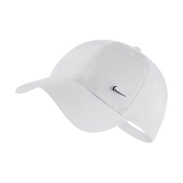 Nike U NK H86 CAP METAL SWOOSH Beyaz Unisex Şapka