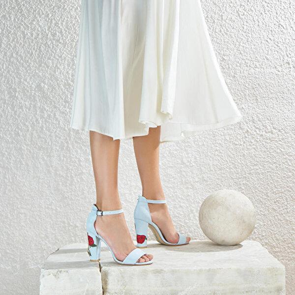 Butigo LENA*68Z Mavi Kadın Sandalet