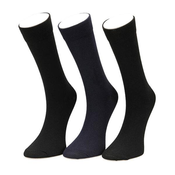 Garamond BASIC 3LU SKT-M Siyah Erkek Soket Çorap