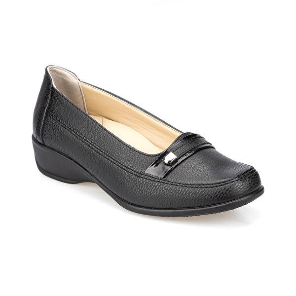 Polaris 5 Nokta 91.111002.Z Siyah Kadın Comfort Ayakkabı