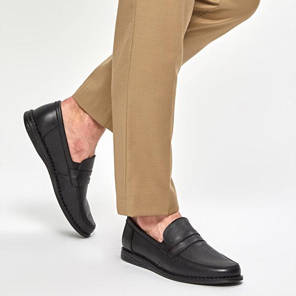Polaris 5 Nokta 91.100558.M Siyah Erkek Comfort Ayakkabı