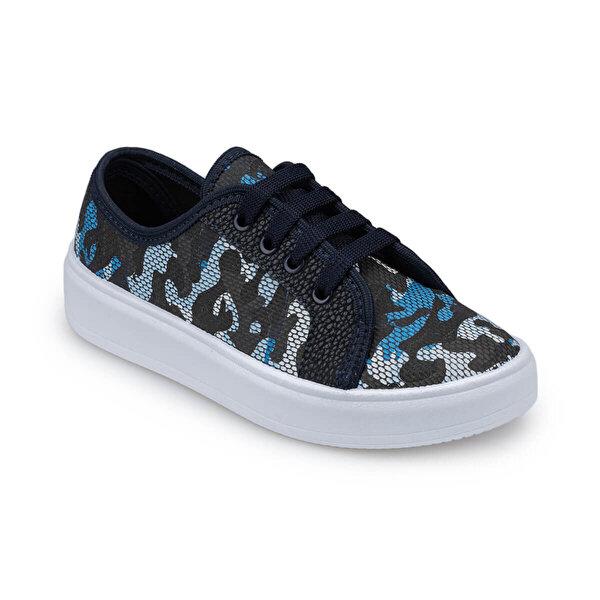 Polaris 91.511448.F Mavi Erkek Çocuk Sneaker Ayakkabı