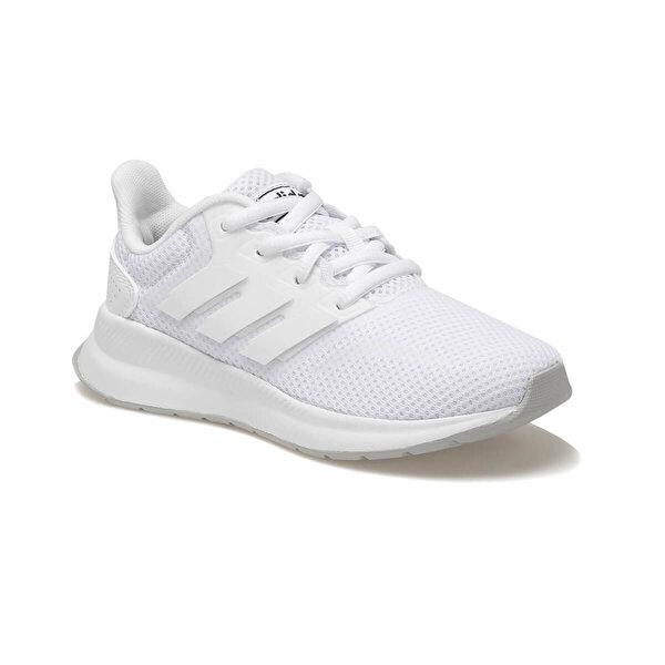 Adidas RUNFALCON Beyaz Unisex Çocuk Koşu Ayakkabısı