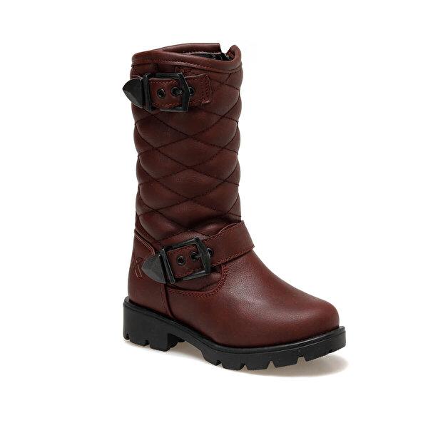 Kinetix LETUNE 9PR Bordo Kız Çocuk Basic Casual Ayakkabı