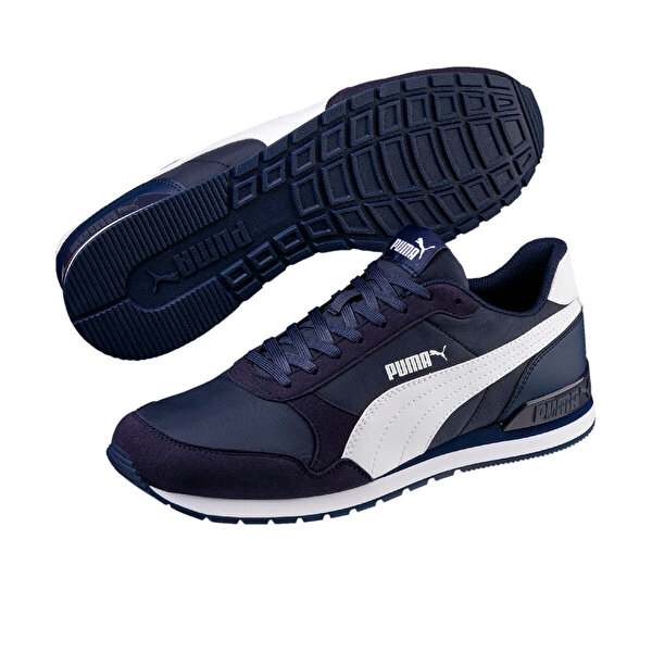 Puma ST RUNNER V2 Lacivert Erkek Sneaker Ayakkabı
